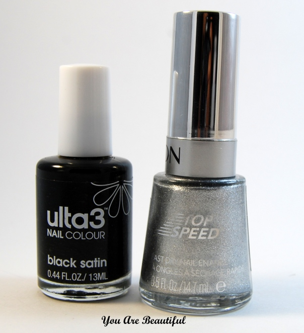 Ulta3 Black Satin Revlon Metallic