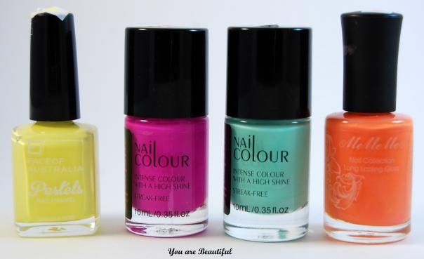 Pastel Nail Colors
