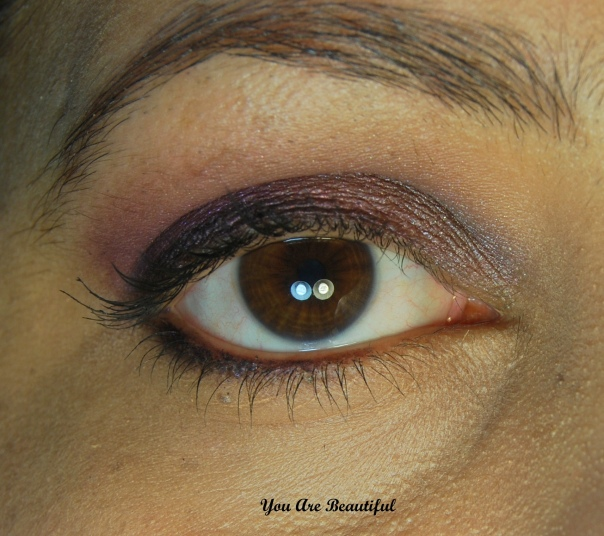Purple Toned Eye Look