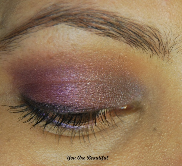 Purple Toned Eyelook